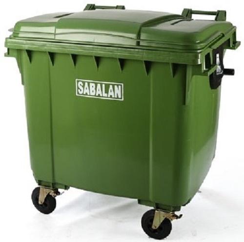 سطل زباله پلاستیکی مخزنی سبلان