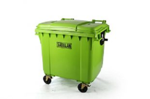 سطل زباله پلاستیکی مخزنی