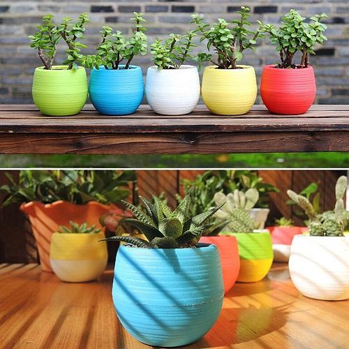 تولید گلدان پلاستیکی طرحدار