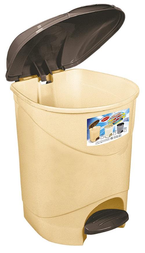 خرید سطل زباله پلاستیکی پدالدار