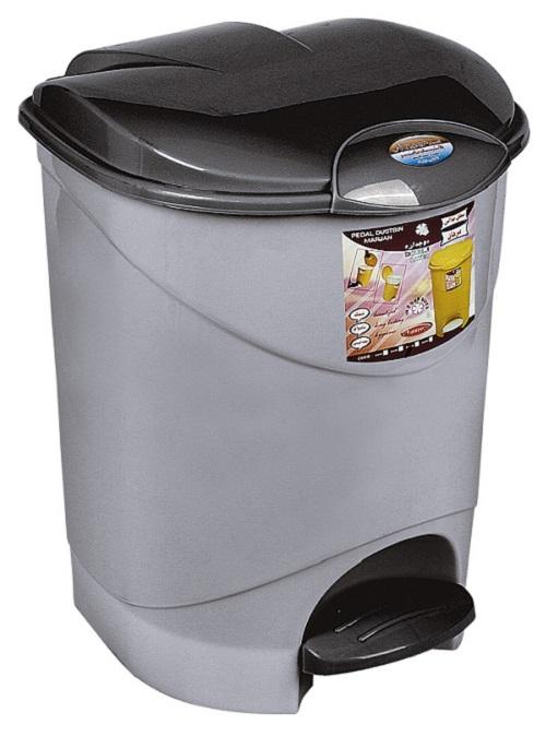 سطل آشغال پلاستیکی پدال دار