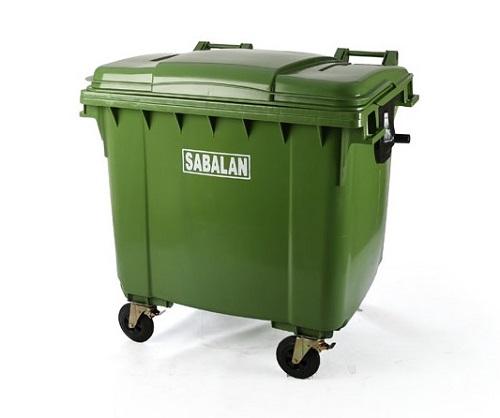 سطل زباله بزرگ پلاستیکی مخزنی