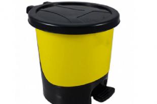 قیمت سطل زباله پلاستیکی پدالی