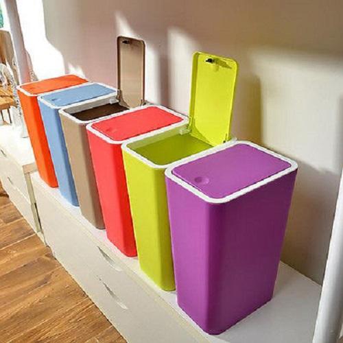 سطل زباله پلاستیکی تزیینی