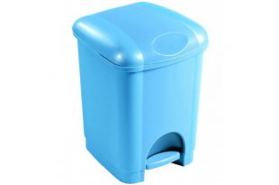 سطل زباله پلاستیکی پدالدار ارزان