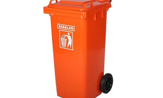 فروش سطل زباله پلاستیکی چرخدار