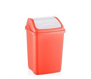 سطل زباله پلاستیکی خانگی رنگی