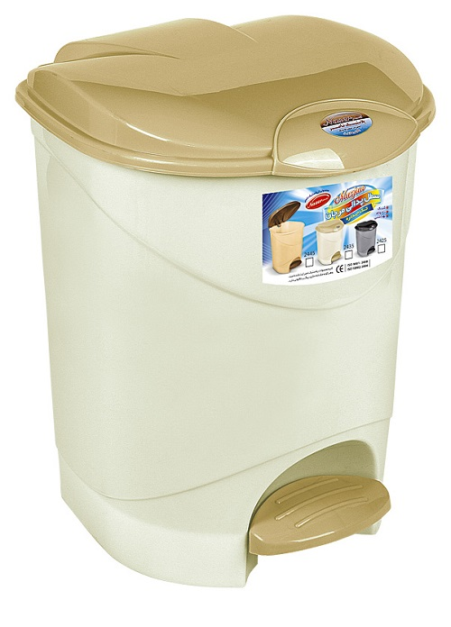 خرید سطل آشغال پلاستیکی پدالی