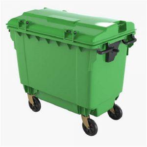 سطل زباله مکانیزه شهری