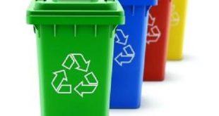 سطل آشغال بازیافتی